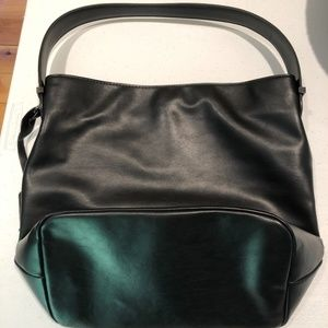 The Limited Black Bucket Purse
